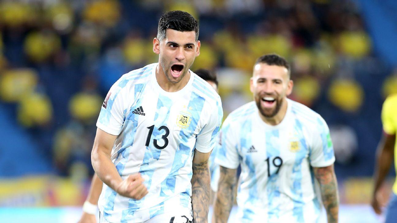 آتالانتا/تیم ملی آرژانتین/مدافع