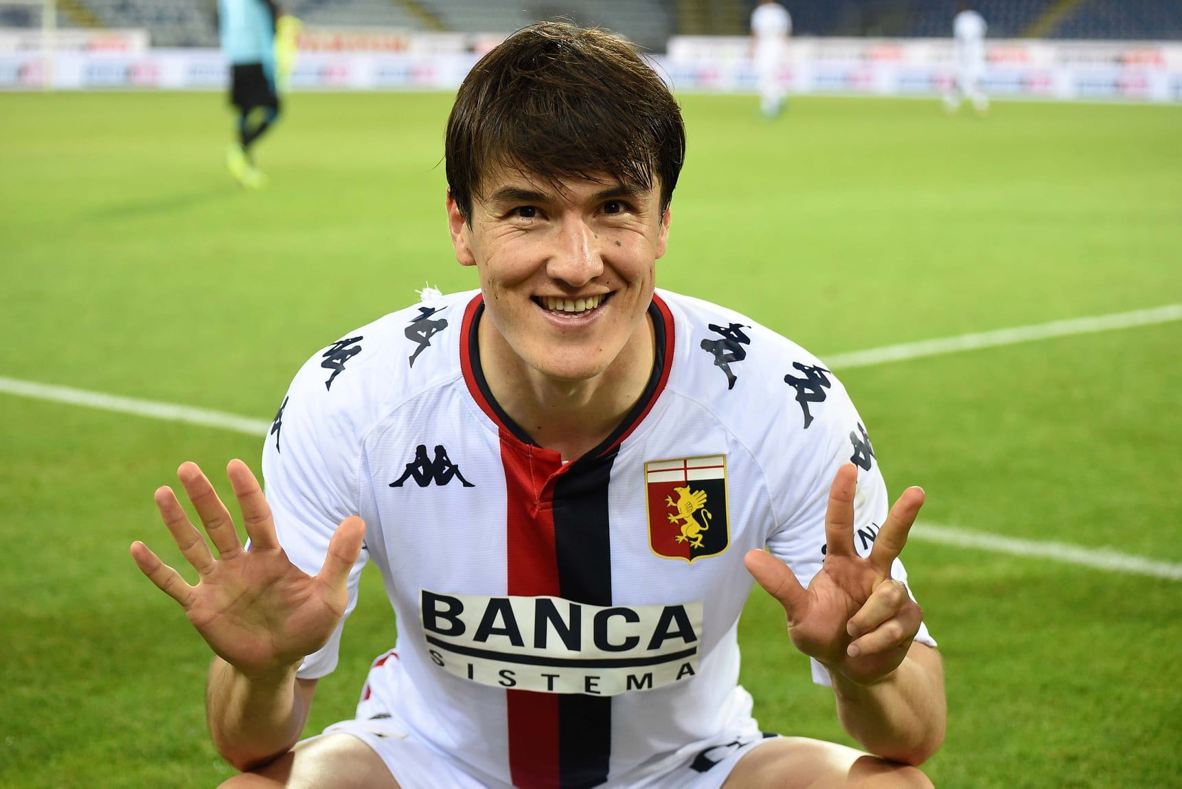 جنوا/مهاجم ازبک/Genoa/Uzbek striker