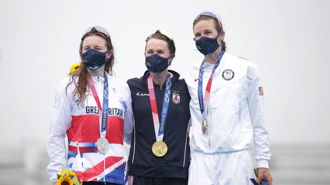 سه گانه المپیک توکیو